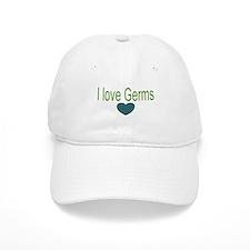 I love Germs Baseball Cap