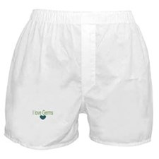 I love Germs Boxer Shorts