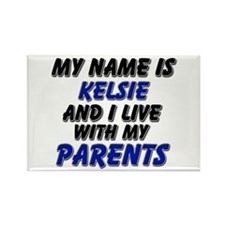 my name is kelsie and I live with my parents Recta