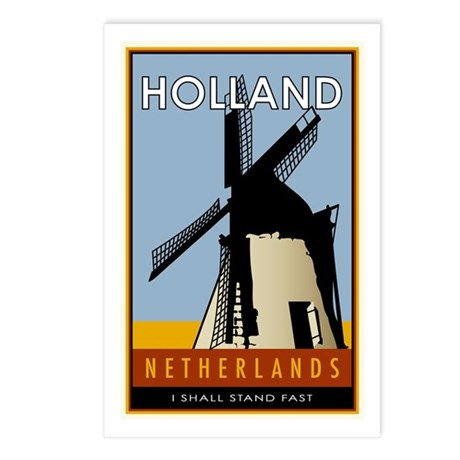 Netherlands Postcards (Package of 8)