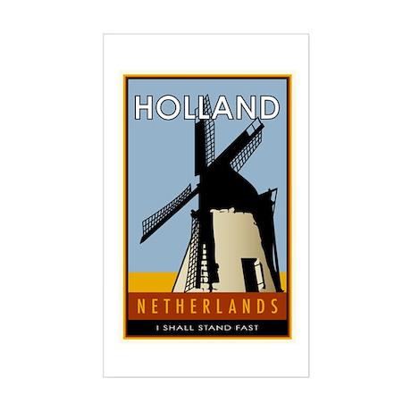Netherlands Rectangle Sticker