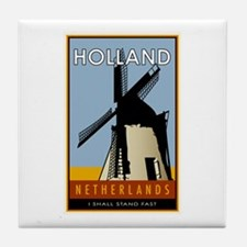 Netherlands Tile Coaster