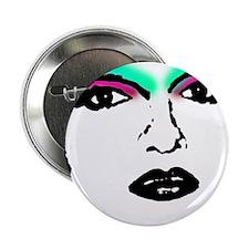 "Drag Queen Stencil 2.25"" Button"