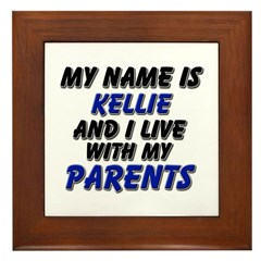 my name is kellie and I live with my parents Frame