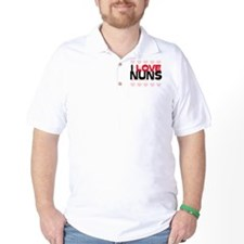 I LOVE NUNS T-Shirt