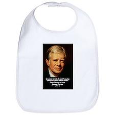 War and Peace: Jimmy Carter Bib