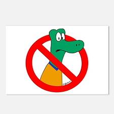 Anti-Gators Postcards (Package of 8)