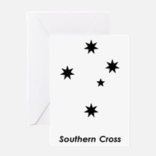 Southern Cross Greeting Card