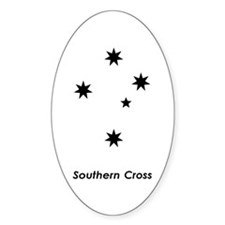 Southern Cross Oval Decal