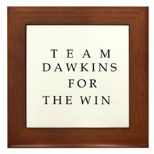Team for The Win Framed Tile