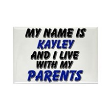 my name is kayley and I live with my parents Recta