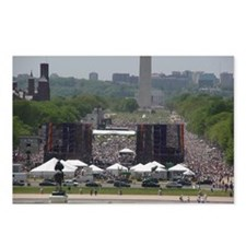 Unique March on dc Postcards (Package of 8)