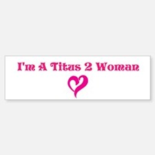 Straight Talk For Women Minis Bumper Car Car Sticker