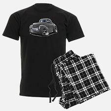 1941 Willys Grey Car Pajamas