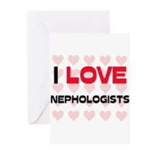 I LOVE NEPHOLOGISTS Greeting Cards (Pk of 10)