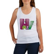 HV with grapes Women's Tank Top