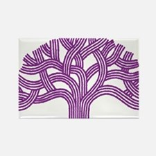 Oakland Plum Tree Rectangle Magnet