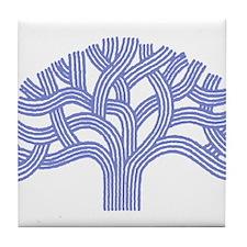 Oakland Ceanothus Tree Tile Coaster