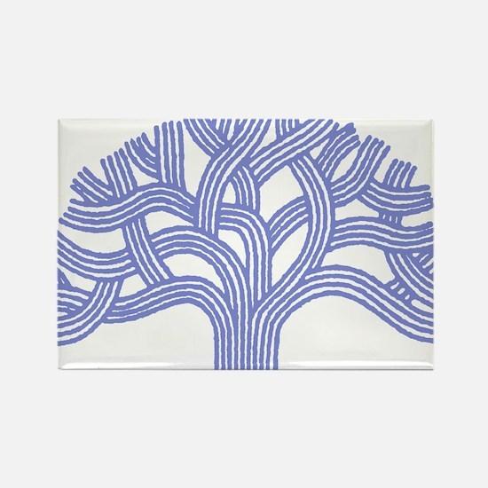 Oakland Ceanothus Tree Rectangle Magnet