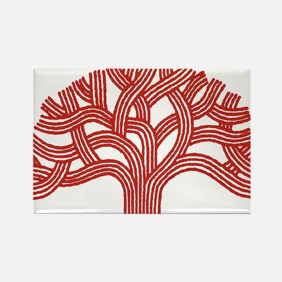 Oakland Apple Tree Rectangle Magnet