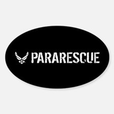 USAF: Pararescue Sticker (Oval)