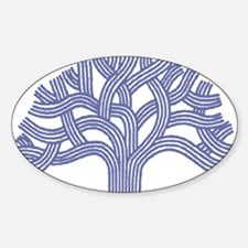 Oakland Blueberry Tree Oval Decal