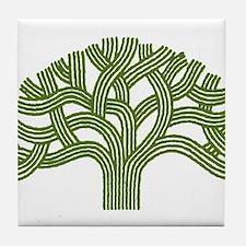 Oakland Oak Tree Tile Coaster