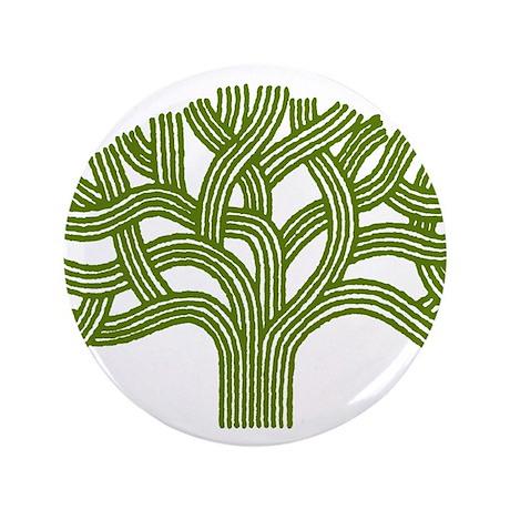 """Oakland Oak Tree 3.5"""" Button (100 pack)"""