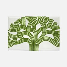 Oakland Oak Tree Rectangle Magnet