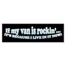 Van Rockin' Bumper Bumper Sticker