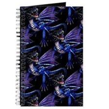 Blue Dragon At Night Journal