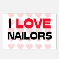 I LOVE NAILORS Postcards (Package of 8)