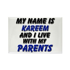 my name is kareem and I live with my parents Recta