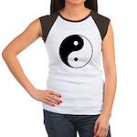 Yin Yang Women's Cap Sleeve T-Shirt