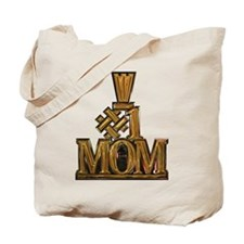 #1 Mom Tote Bag
