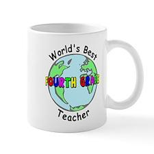 Fourth Grade Teacher Mug