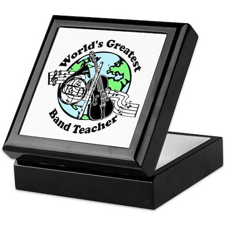 Band Teacher Keepsake Box