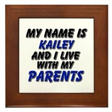 my name is kailey and I live with my parents Frame