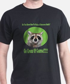 Raccoon Go Green T-Shirt