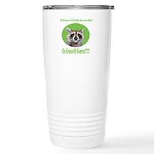 Raccoon Go Green Travel Mug