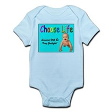 Choose Life for Pro Life Infant Creeper