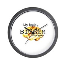 Bigger Brain Wall Clock