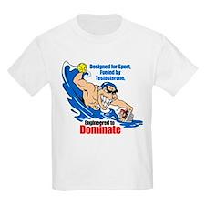 Engineered to DOMINATE Kids T-Shirt