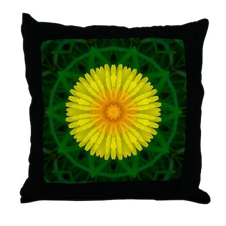 Dandelion I Throw Pillow