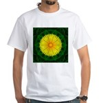 Dandelion I White T-Shirt