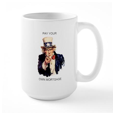 mortgage Large Mug