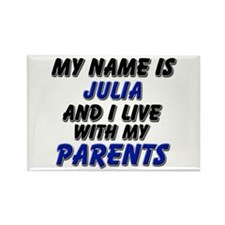my name is julia and I live with my parents Rectan