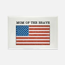 """""""Military Mom"""" Rectangle Magnet"""