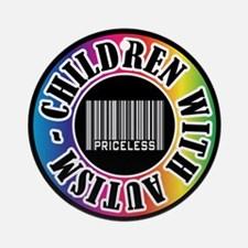 Children with Autism Priceless Ornament (Round)