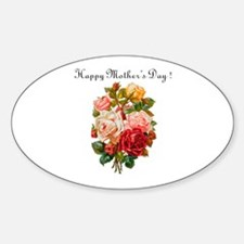 """Mother's Day"" Oval Decal"
